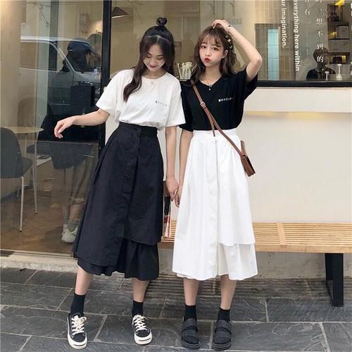 cách phối đồ với chân váy, Shop Thái Hòa