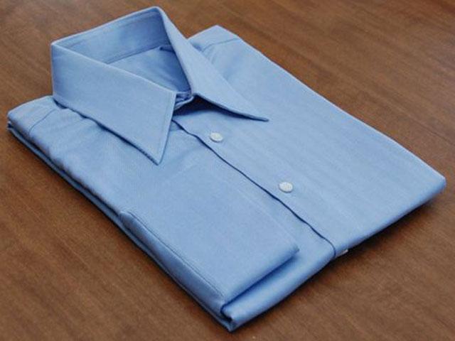 cách xếp áo sơ mi tay dài, Shop Thái Hòa
