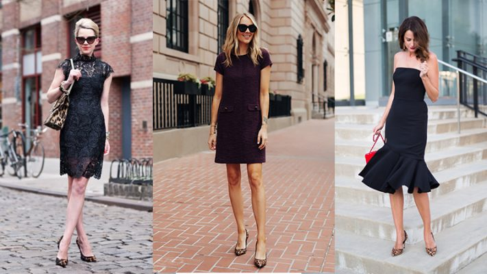 Góc tư vấn: Mặc đầm đen mang giày màu gì để bạn luôn phong cách